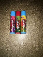 skittles lip smacker set, three, somewhat used but sanitized