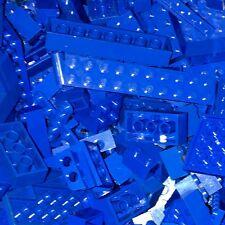 Blue 1/2 Lbs Genuine Lego Bricks Bulk Block Lot 8 Oz Boys Girls Various Sets
