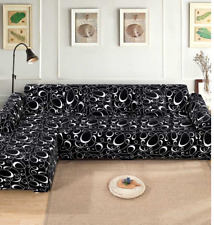 Covers for a corner sofa sectional sofa universal Elastic L-shaped 100% polyeste