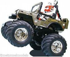 Batería de tres Super trato! Kit Tamiya 58242 Wild Willy Jeep RC Kit