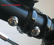 Lenkerschalter Mini Taster Edelstahl für Harley Custom Einbau Schalter Bobber