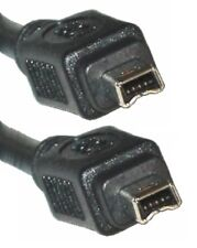 FireWire 4-4 Lead / Cable, DV / iLink / IEEE-1394 , 4-pin Male Plug to same, 5M