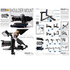 DSLR Rig Movie Kit Shoulder Rig Mount Support Pad for  Camera and camcorder NEW