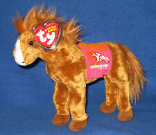 TY DERBY 134 PINK the KENTUCKY DERBY HORSE BEANIE BABY - MINT with MINT TAGS