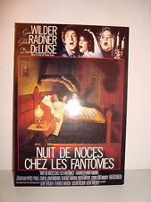 CARTE POSTALE CINEMA - NUIT DE NOCES CHEZ LES FANTOMES