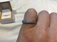 1.0 Carat Diamond Eternity Ring In Platinum Size N