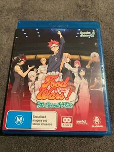 FOOD WARS COMPLETE SEASON 2 - BLURAY ANIME LIKE NEW