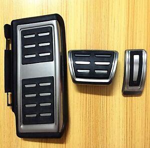 For VW Passat B8 Variant Sedan 2016 2017 Sport Automatic Foot Pedal Cap Kit LHD