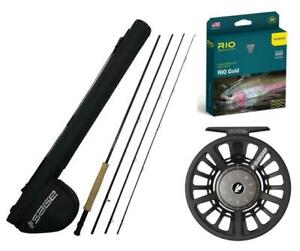SAGE Foundation Fly Rod #5 9' 4 pcs., SpectrumC Reel & Accesories Outfit 590-4