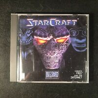 Vintage StarCraft PC Game w/Disc/Manual/Key Tested