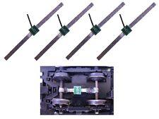 S867 - 4 Stück Schleifer Radschleifer Stromabnehmer für Waggonbeleuchtung Achsen