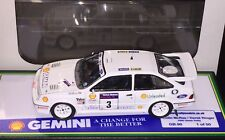 1/43 Ford Sierra RS Cosworth 1990 Ulster Rally Colin McRae Trofeu Not IXO