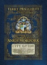 The Compleat Ankh-Morpork: City Guide New Hardcover Book Terry Pratchett