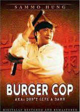 BURGER COP SAMMO HUNG YUEN BIAO MARTIAL ARTS HK KUNG FU OOP HONG KONG ACTION