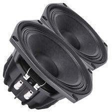 Pair Faital Pro W6N8-120 8ohm Neodymium 6 Midrange Midbass Line Array Speaker