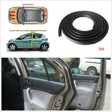DIY 5M Flexible Car Door Edge Protector Sealing Strip Seal Rubber Trim Universal