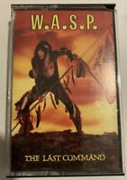 W.A.S.P. – The Last Command Cassette 1985 Capitol Records 4XT-12435 - LIKE NEW