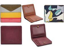 Fossil Wallet Emma RFID Leather Bifold Mini Wallet