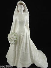 COALPORT LTD. ED. ROYAL BRIDE FIGURINE - THE QUEEN 3721 / 7500