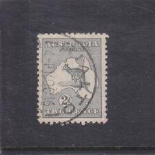 AUSTRALIA-1915-2d GREY KANGAROO-DIE 1-3rd W/M-RIALTO 15 OCT 1916 CDS-FINE USED