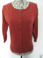 ATMOSPHERE - RUSSET LONG SLEEVE  COTTON BLEND CARDIGANSize 12