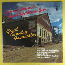 CONNIE FRANCIS & HANK WILLIAMS Junior Sings excellents Country favourites -