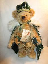 Hermann 100th Birthday King Max Mohair Teddy Bear-Growler Ltd Ed 924/1000