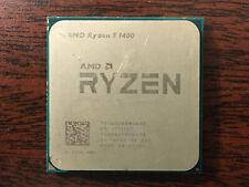 New listing Amd Ryzen 5 1400 4C8T 3.2-3.45Ghz 65W Cpu only Yd1400Bbm4Kae