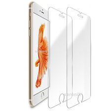 2 Panzer Schutz Glas iPhone 6 Plus / iPhone 6s Plus Panzerfolie 9H Display Folie