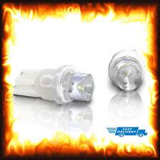 2 x 501 T10 12V W5W 168 194 Xenon White LED Dash Side Car Wedge Light Bulbs Lamp