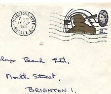 Ai41 1965 Gb Transorma *H* Machine Sorting Trial Postmark Brighton Bank Cover