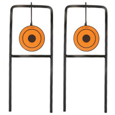 2pcs/lot Self Resetting Metal Shooting Targets for Hunting Training Practice