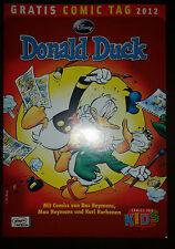 DONALD DUCK - GRATIS COMIC TAG 2012 - TOP
