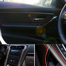 Usrful 1 set Car Interior Red Edge Gap Line Garnish 5M Point  Molding  Accessory