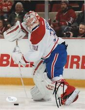 Montreal Canadiens Carey Price Autographed Signed 8x10 Photo JSA COA #4