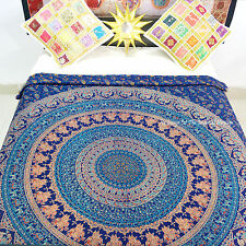 New Urban Outfitters Twin Cotton Mandala Duvet Quilt Cover Indian Doona Cover