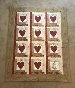 Lap Quilt Prayer Quilt Wall Hanging