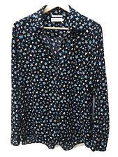 Fabienne Chapot Star Print Blouse Size L Excellent Condition