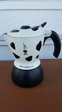 Bialetti Mukka Express Cow Bovine Pattern Stove Top Cappuccino Maker