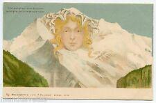 F. KILLINGER . La Jungfrau ou la Vierge sans rivales