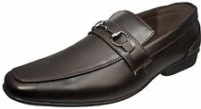 New Men Dress Shoes Coffee w/Comfort Padded Insoles Size 9