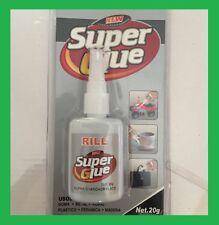 Colle Super Glue liquide Universal 20g plastique métal céramique bois caoutchouc