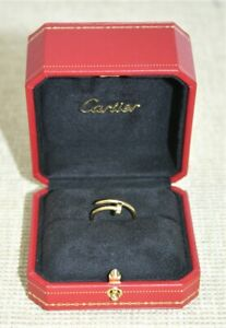Cartier 18ct Yellow Gold Juste un Clou Ring - Size N - Thames Hospice