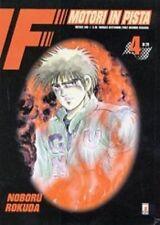 manga STAR COMICS F1 MOTORI IN PISTA numero 4