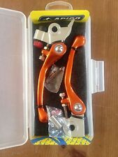 KTM  SXF  250  350  2014-2017    FLEXI  FLEXIBLE LEVER LEVERS SET  ORANGE
