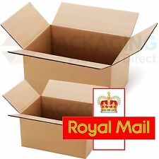 25 x NEW 450x350x160mm ROYAL MAIL MAX SIZE SMALL PARCEL CARDBOARD POSTAL BOXES