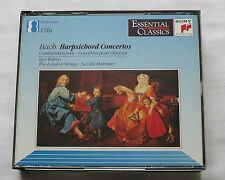 KIPNIS-MARRINER/J.-S. BACH Harpsichord concertos AUSTRIA 2CD box SONY (1993)