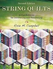 String Quilts : 11 Fun Patterns for Innovating and Renovating - Free Shipping