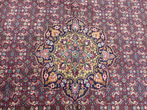10'x10' Square Geometric Super Bidjar hand knotted wool Oriental area rug