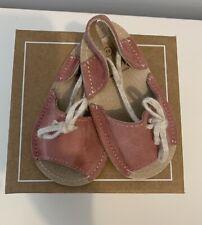 Shoes Le Petit Pre Walker Baby Girl Suede Sandals Size 19